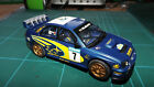 SCALEXTRIC SUBARU RALLY Car With Lights