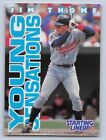 1996  JIM THOME - Starting Lineup Card - SLU - CLEVELAND INDIANS