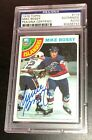 MIKE BOSSY SIGNED TOPPS 1978 ISLANDERS ROOKIE CARD #115 PSA DNA Auto RC