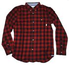 New Vans Boys Eckleson Button Up Casual Shirt Medium 10-12