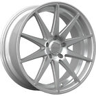 22x85 Silver Rosso Legacy Wheels 5x425 +40 Fits Volvo V40 S40 5 Lug Only