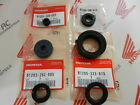 Honda CB 250 360 G engine motor oil seal set 6 piece Genuine new