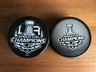 2 L.A. Kings 2012 & 2014 STANLEY CUP CHAMPIONSHIP COLLECTIBLE HOCKEY PUCKS NEW