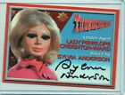 THUNDERBIRDS personally signed - SYLVIA ANDERSON as LADY PENELOPE (A2 auto card)