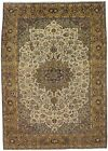 Exquisite Hand Knotted Vintage Rare Najafabad Persian Rug Oriental Carpet 9X13