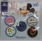 Disney Trading Pins 2018 NEW YEAR Theme Park Rides SEALED Booster Set of 5