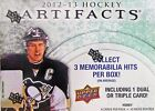 2012 2013 Upper Deck Artifacts Hockey Hobby Box Bobby Orr Triple Mem AUTO Hits ?