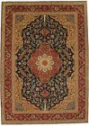 Spectacular Tree of Life Signed Tabriz Persian Rug Oriental Area Carpet 8X11