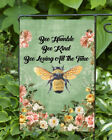 Bee Humble Dbl Sided Soft Flag  GARDEN SIZE FG1028