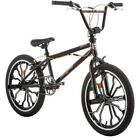 20 in. Mongoose Rebel Freestyle Boys BMX Bike Rugged Steel Frame Bicycle Black