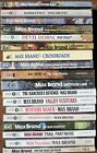MAX BRAND Lot of 18 Vintage WESTERN Books CROSSROADS SIX GUN MIGHTY LOBO RANCH +