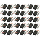 30 Pcs 14 x 9 x 6mm Planer Motor Carbon Brushes for Bosch