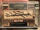 2011 WILLIE STARGELL Panini Donruss Limited Cuts AUTO #16 16 PIRATES