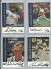 1999 Sports Illustrated Greats of the Game - ENOS SLAUGHTER Autograph CARDINALS