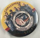 Orig 1985 Pin Challenger Space Shuttle NASA STS61 A Mission Crew
