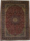S Antique Traditional Handmade Najafabad Persian Rug Oriental Area Carpet 9'5X13