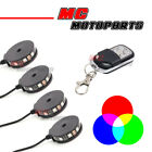 Flashing RGB 360 Degree Colorful Wheel Light LED Pod x4 For Hyosung