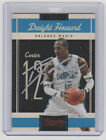DWIGHT HOWARD Magic SIGNED 2010-11 Classics Basketball Autograph ON CARD AUTO