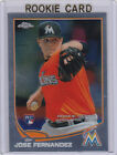 JOSE FERNANDEZ Topps Chrome MEGA BOX ROOKIE CARD Miami Marlins 2013 Baseball RC!