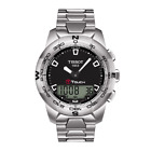 Tissot T-Touch II Black Dial Stainless Steel Strap Men's Watch T0474201105100