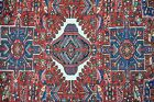 Persian Semi Antique Heriz Family Karajeh Rug  5x6 Nice.