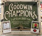 2013 Goodwin Champions Hobby Box 3 Hits Box! 1 1 Of Van Gogh DaVinci Monet !?!$