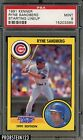 1991 Kenner Starting Lineup Ryne Sandberg Chicago Cubs HOF PSA 9 MINT