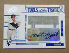 2005 ABSOLUTE PHIL RIZZUTO AUTO JERSEY CARD 074 100 NEW YORK YANKEES RARE