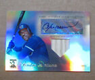 2009 TOPPS TRIBUTE ANDRE DAWSON AUTO GAME BAT CARD 27 99 CHICAGO CUBS RARE