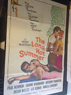 THE LONG HOT SUMMER 1958 Movie Poster PAUL NEWMAN ORSON WELLES JOANNE WOODWARD