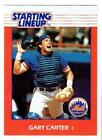 GARY CARTER Mets ~ 1988 Starting Lineup card ~ FREE SHIPPING