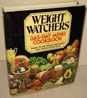 Vintage 1981 1st Printing Weight Watchers 365 Day Menu Cookbook With Dust Cover