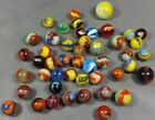 Marbles: Lot of (57) 19/32 to 1
