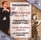 Violin Concertos Nos. 1 and 4 (Lso)  (UK IMPORT)  SACD NEW