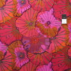 Kaffe Fassett GP29 Lotus Leaf Wine Cotton Fabric By Yd