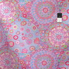 Kaffe Fassett PWGP92 Millefiore Pink Cotton Fabric By The Yard