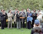 President Ronald Reagan with 1985 Kansas City Royals team - New 8x10 Photo
