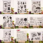 DIY Transparent Silicone Clear Stamp Cling Seal Scrapbook Album Embossing Decor
