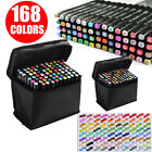 168 Color Artist Dual Head Sketch Copic Markers Set For School Drawing Sketch Wh