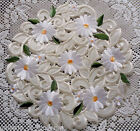 Doily Field of Daisies Lace Daisy 11 Round White Flower
