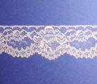 Vintage Bridal Lace Trim Lot 12 - 7 Venise Organza Cream White Pink Ivory 84x