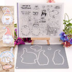 Clear Silicone Stamp Cutting dies For DIY Scrapbooking Photo Album Card Decor