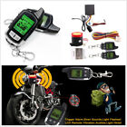 Motorcycles 2-Way Long Range Distance Remote Engine Start Alarm Security System