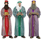 Adult size 3 Wise Men Costumes Christmas Nativity fnt