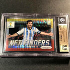 LIONEL MESSI 2014 PANINI PRIZM WORLD CUP NET FINDERS PULSAR REFRACTOR BGS 9.5