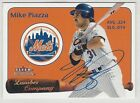 Mike Piazza Rookie Cards and Autograph Memorabilia Guide 39