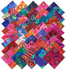 Kaffe Fassett Collective Bold Bright Precut 5 Fabric Quilting Squares SQ07