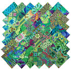 Kaffe Fassett Collective Garden Greens Precut 5 Fabric Quilting Squares SQ112