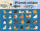 Pet Fridge Magnets 3x 5 I Know Your Day Was Ruff rough 24 breeds available