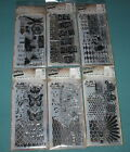 Lot Of 6 TIM HOLTZ Stampers Anonymous Stamps  Stencils Combos NO DUPLICATES